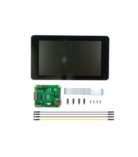 "KIT Display LCD de 7"" pentru Raspberry Pi"