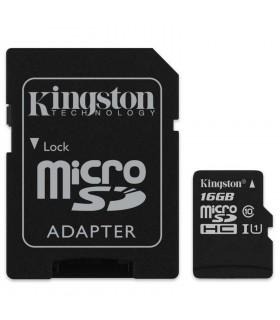 MicroSD Kingston 32gb cu adaptor SD