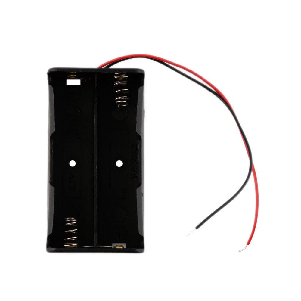 suport baterii 18650 2 sloturi