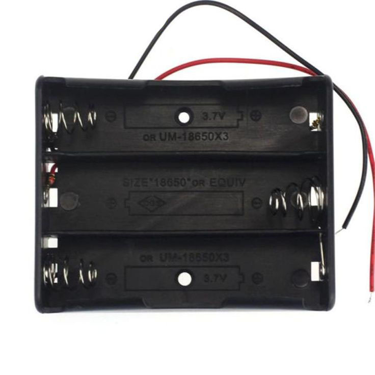 suport baterii 18650 3 sloturi
