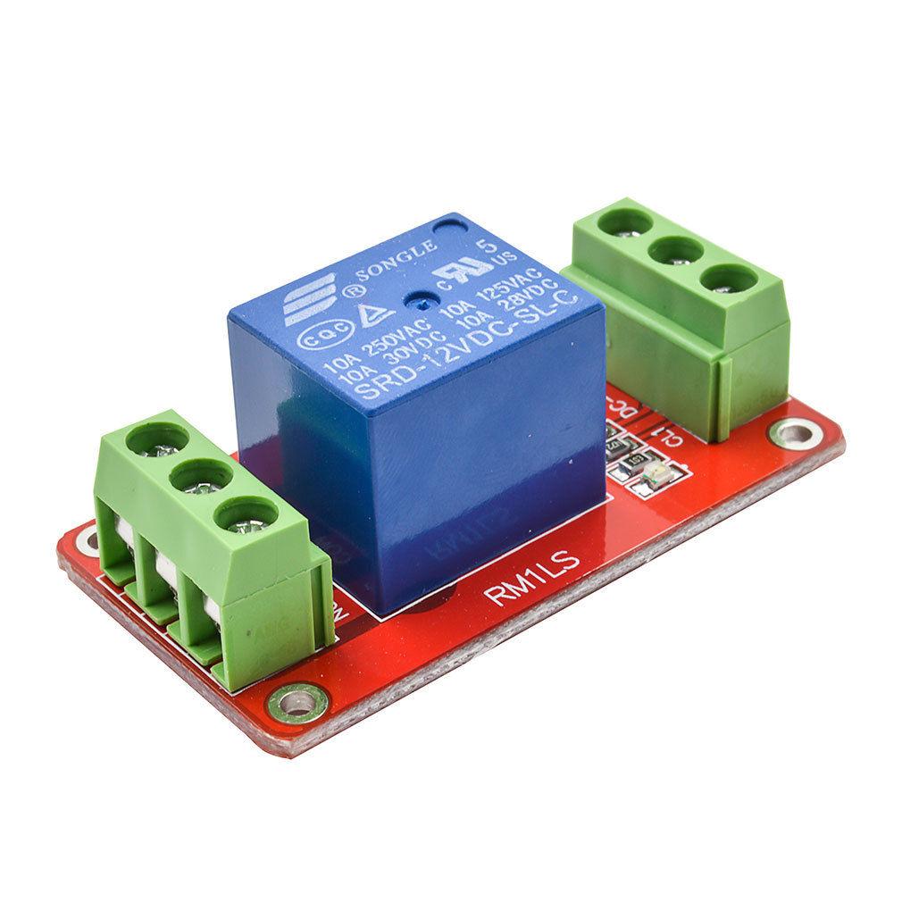 modul releu 1 canal 12v terminal dublu