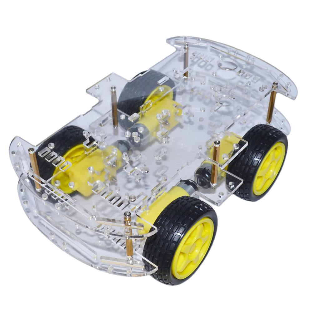 mașină inteligentă lungă 4wd dublă
