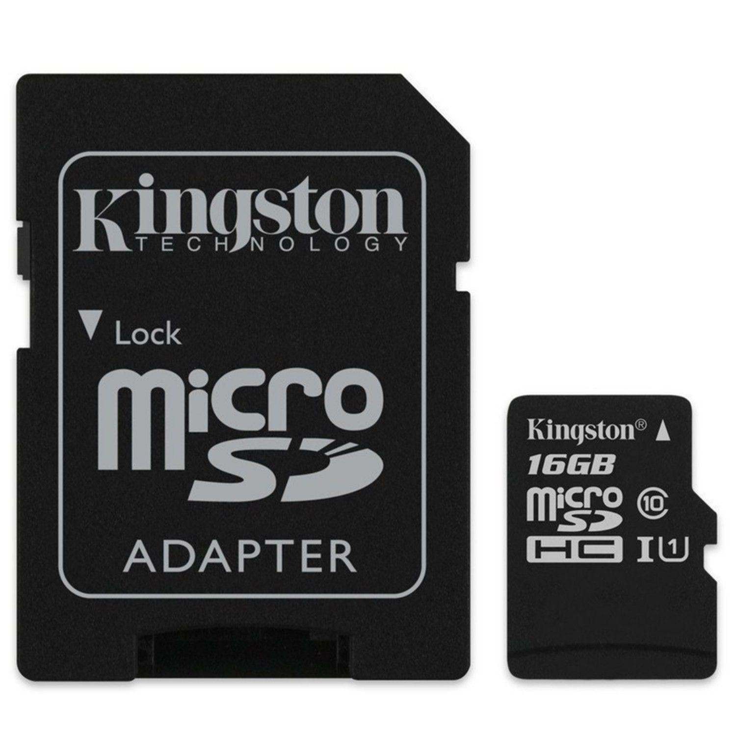 microsd kingston 16gb cu adaptor sd