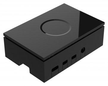 Carcasă neagră pentru Raspberry Pi 4 Model B