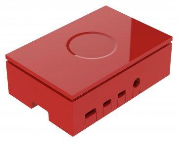 Carcasă roșie pentru Raspberry Pi 4 Model B
