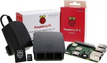 Start Kit Raspberry Pi 3 Model B + UCreate