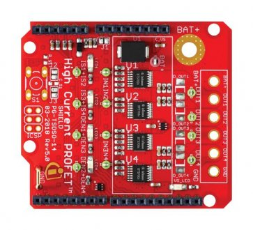 PROFET +2 12V / 21A Shield Arduino