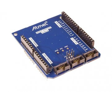 Atmel \ u00ae Shield adaptor de depanare Arduino