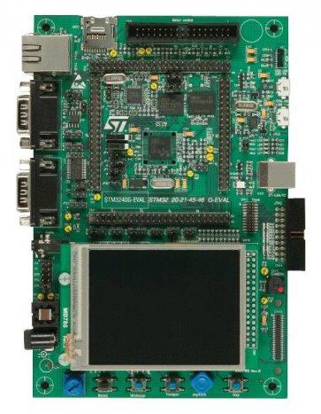 Placa de dezvoltare STM32F407IG