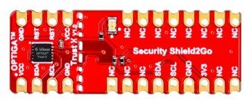 Placa de evaluare, Shield2Go Optiga Trust X Security, interfață I2C, securitate IoT