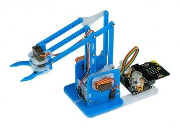 Kit de brațe robot MeArm, microasamblare controlată cu biți, autoasamblare