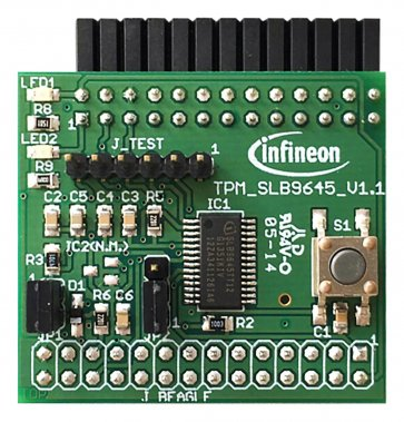Placă de dezvoltare Iridium 9670 Optiga IoT Security