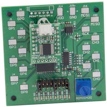 Kit de evaluare, dispozitiv MCP2210, USB la SPIC