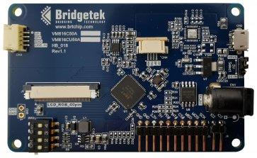 """Placă de dezvoltare, motor video încorporat BT816, sclav USB, afișaj LCD integrat de 5 """""""