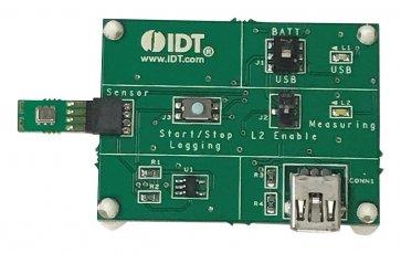 Kit de dezvoltare cu senzori de umiditate și temperatură relativă HS3001