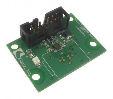 Placă de dezvoltare KX126-1031 accelerometru / magnetometru cu 3 axe