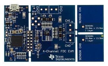 Senzor de proximitate FDC2114EVM