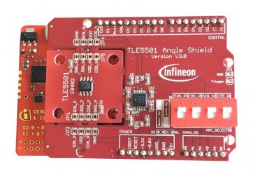 Kit de dezvoltare TLE5501 senzor unghi TMR