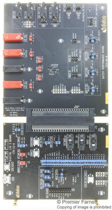 Placă de evaluare, codec stereo DA7217