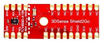 Placa de dezvoltare S2Go_3DSense_TLV493D senzor magnetic 3D