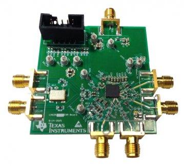 Modul de evaluare LMX2582 Sintetizator