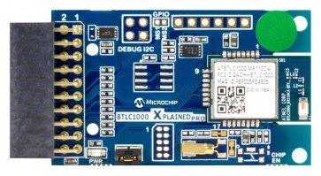 Placa de evaluare, modulul Bluetooth ATBTLC1000, pentru Xplained Pro, senzor de temperatură