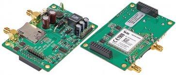 Placă de evaluare GPRS și GPS Socket Modem încorporate