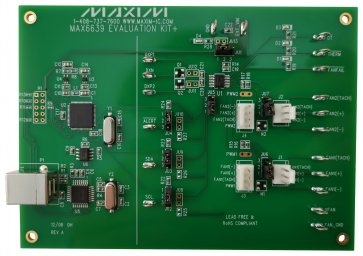 Kit de dezvoltare cu senzor de temperatură MAX6639