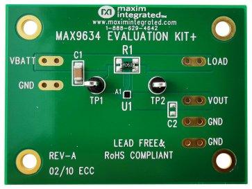 Kit de dezvoltare MAX9634