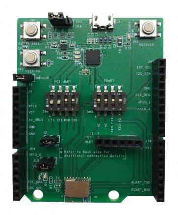 Placă de evaluare, modul Bluetooth CYBT-353027 EZ-BT WICED