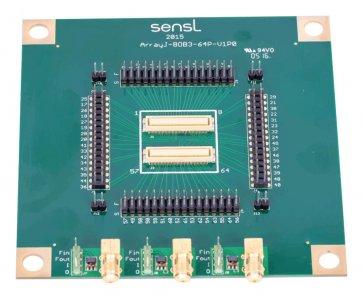 Placă de dezvoltare SensL ArrayJ-300xx (SiPM)
