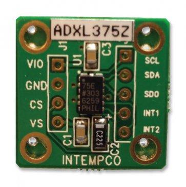 Placă de dezvoltare EVAL-ADXL375Z