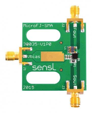 Placa de dezvoltare SiPM MicroFJ-30020