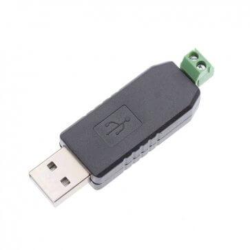 Convertor USB la RS485 Negru