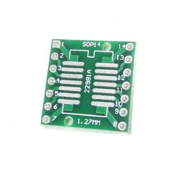 Placă Adaptoare SOP14, SSOP14 și TSSOP14 către DIP