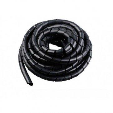 Protecție Cabluri Spirală 10M Negru