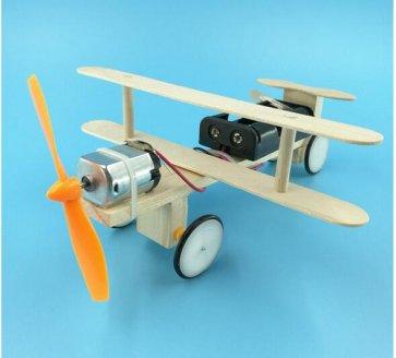 Avion educațional jucărie DIY