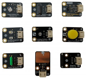 Kit senzori Gravity pentru Arduino