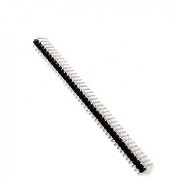 Baretă 40 pini 2.54mm unghi 90 grade