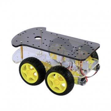 Șasiu dublu mașină inteligentă 4 roți