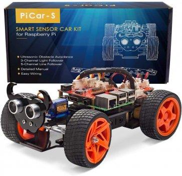 Kit mașină inteligentă Sunflower Picar S pentru Raspberry Pi