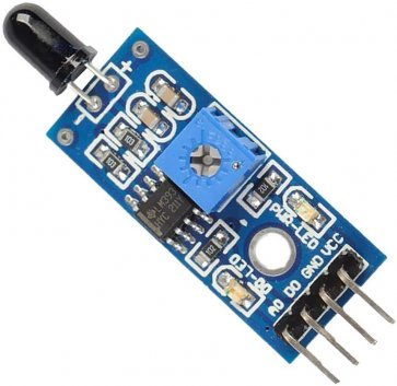 Modul senzor IR detector flacără 4 pini
