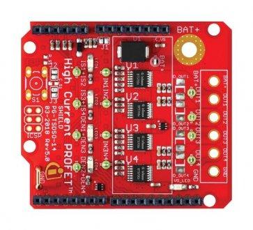 Shield PROFET™ +2 12V BTS7004-1EPP pentru Arduino