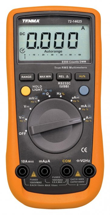 Multimetru Digital TENMA 72-14625