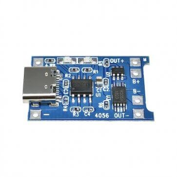 Modul încarcare baterii litiu 1A USB C TP4056
