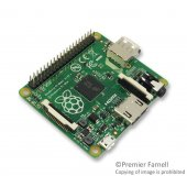 Raspberry Pi Model A, CPU BCM2835, SDRAM 512MB