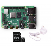 Raspberry Pi 4 Model B 2Gb cu încărcător și card- Ready to go Package