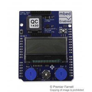 Shield de aplicație mbed LCD grafic 128x32 accelerometru cu 3 axe