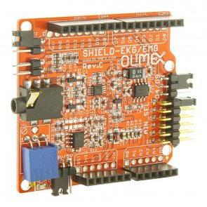 Shield ECG / EMG pentru  Duinomit STM32  Pinguino  Maple Arduino