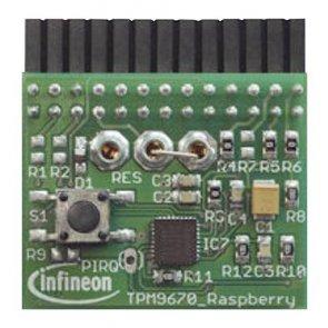 Placa de evaluare, Iridium 9670 Optiga IoT Security, Raspberry Pi